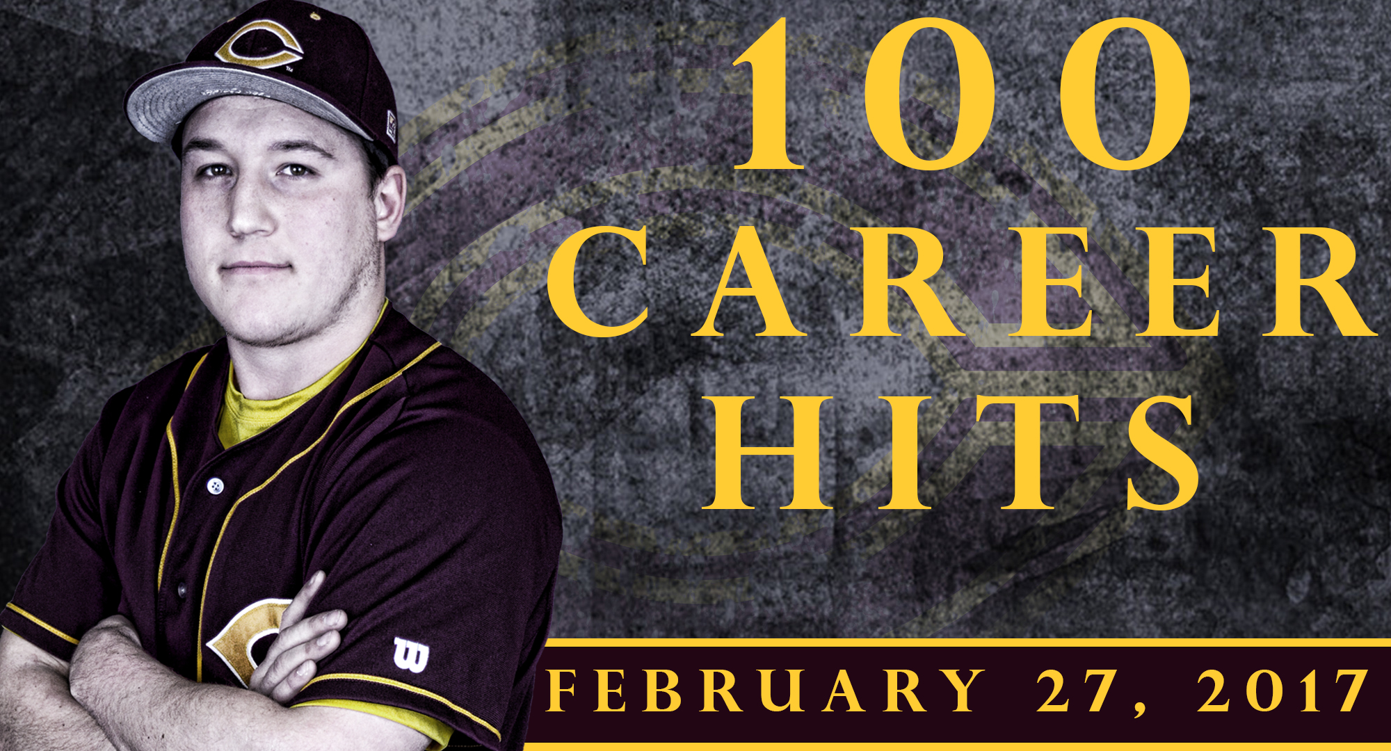 Senior Cody Rahman collected his 100th and 101st career hits in the Cobbers' 15-7 win over Rose-Hulman in the first game in Florida.