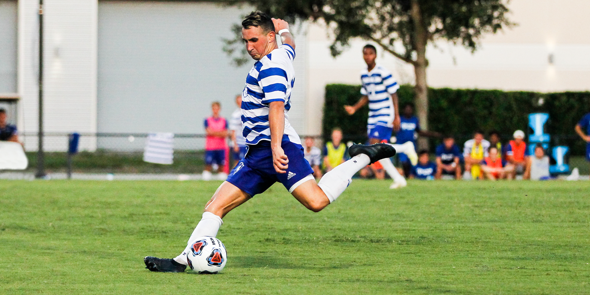 Men's Soccer Opens with Resounding Victory