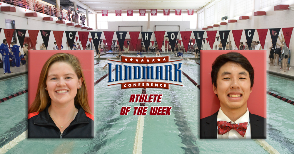 Beal, Nguyen Garner Landmark Athlete of the Week Honors