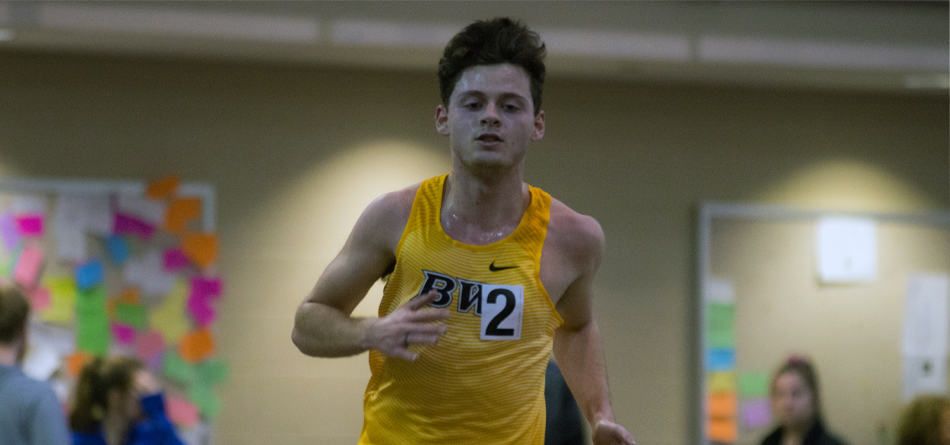 Sophomore All-OAC distance runner Josh Hickmott won the 3,000-meter run at the Raider Tune Up (Photo courtesy of Milton Woods)