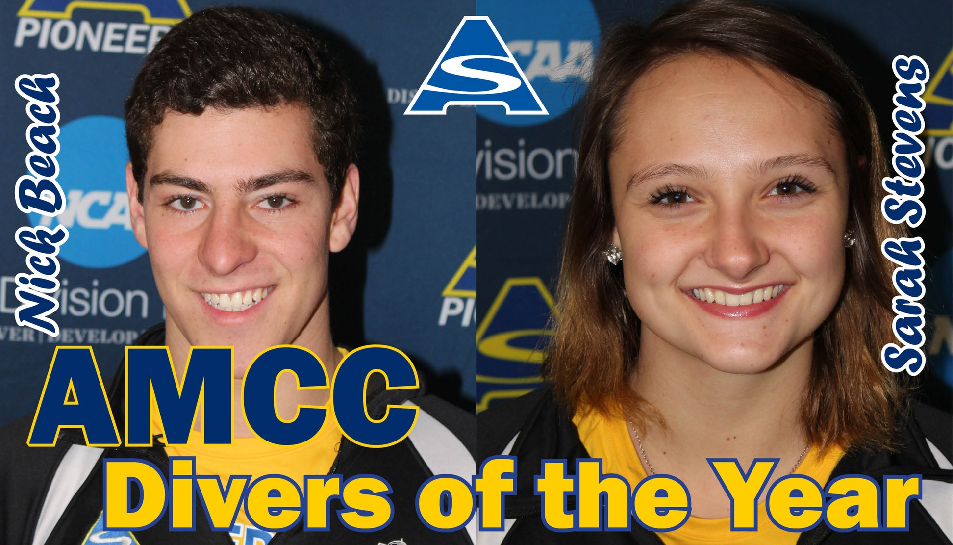 AMCC Divers of the Year, Nick Beach & Sarah Stevens