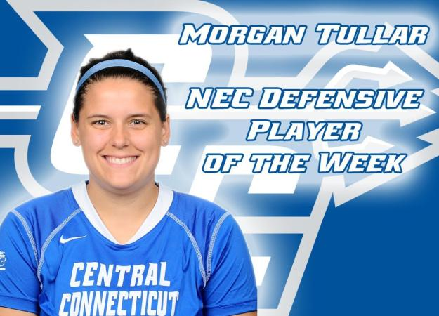 Tullar Earns NEC Weekly Honor