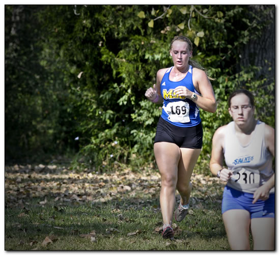 Mount women's cross country team places seventh at the Friendship Invitational