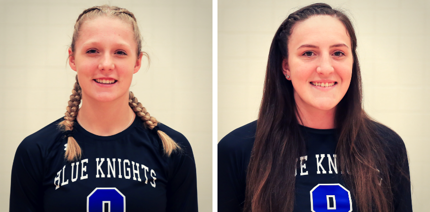 Mackenna Johnson and Anika Weber Named to Region XIII All Region Team