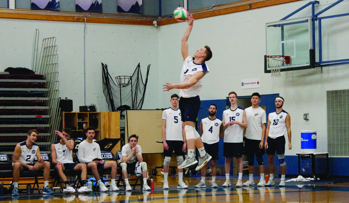 Men Go the Distance in Split at Camosun