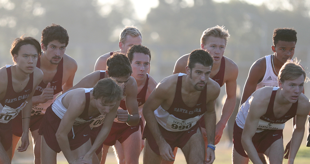 Santa Clara's men had their best team finish at the regional meet since 2011 on Friday morning.