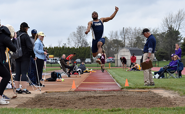 Trine Men Second After First Day of MIAA Outdoor Championship
