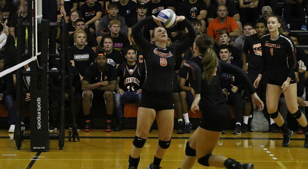 Women's volleyball tripped up by Illinois - Springfield