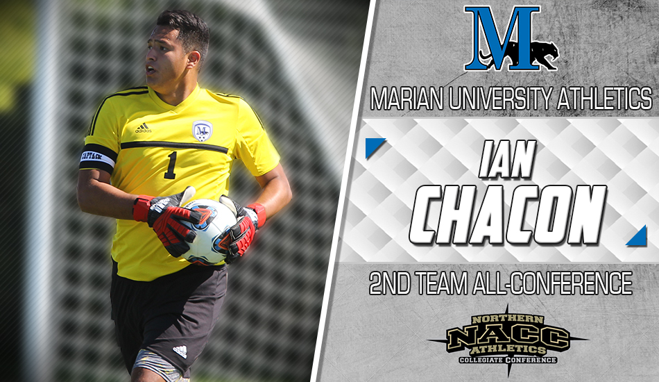 Ian Chacon All-NACC second team graphic