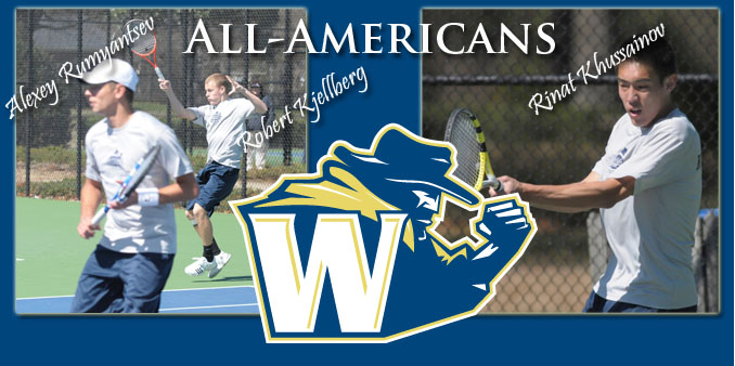 Tennis Trio Earns Program's First All-American Nods