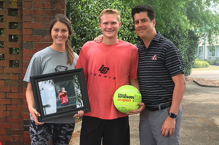 Men's Tennis: Panthers down Covenant for Senior Day victory
