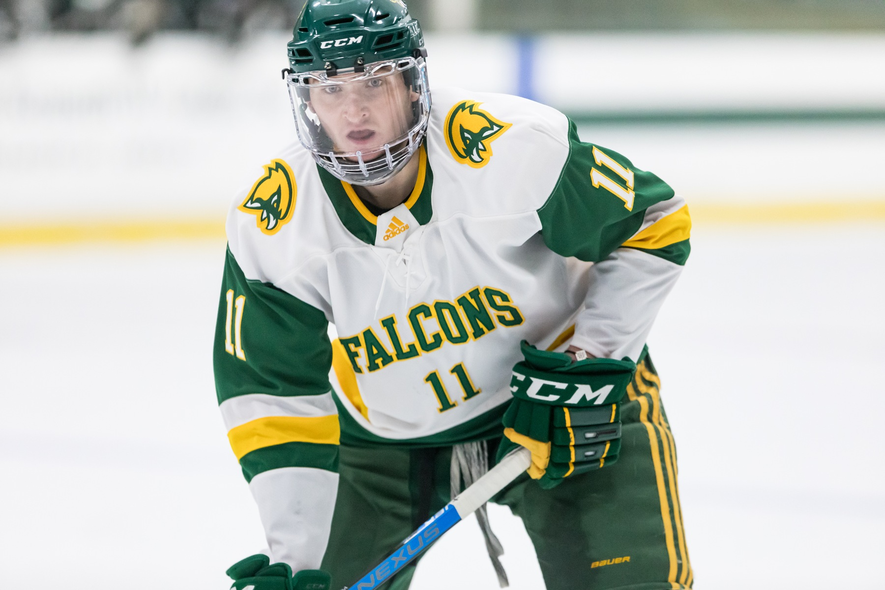 Falcons Score OT Win vs. Plymouth State, 5-4