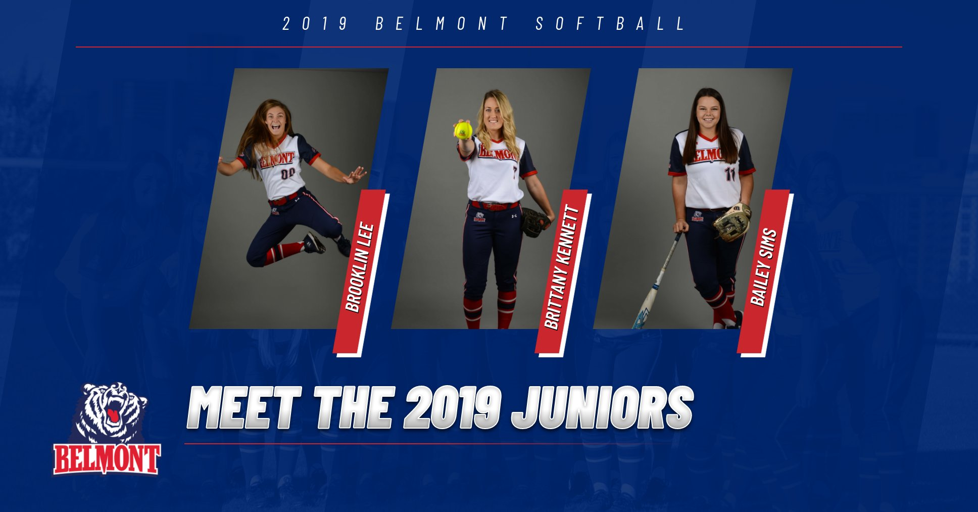 Meet the 2019 Softball Juniors