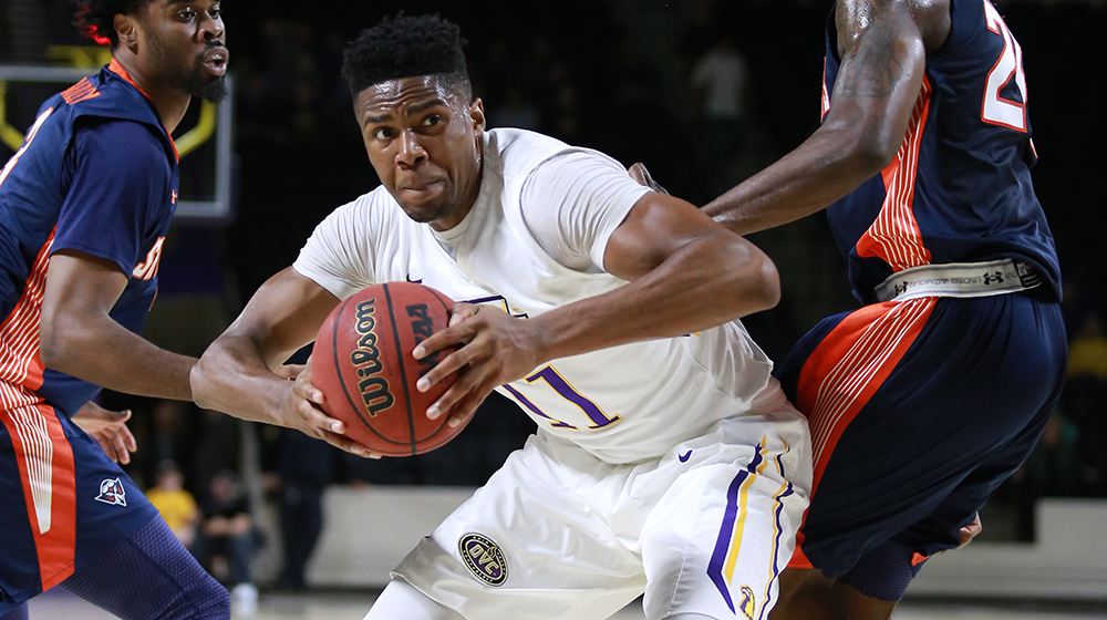 Golden Eagles fall to UT Martin in Wednesday league action, 75-46