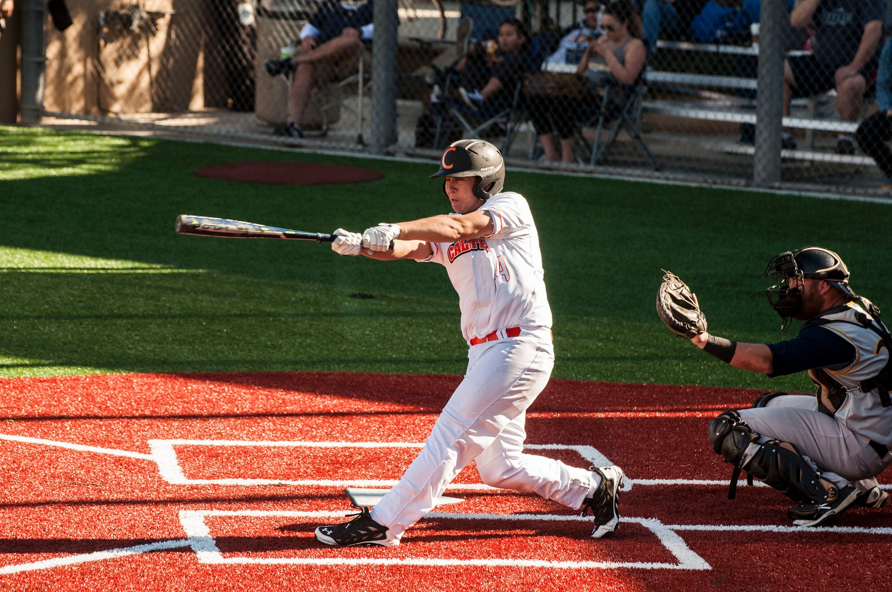 Moffatt Belts Second Home Run Against La Verne