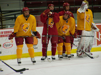 Ferris State Hockey Begins Skill and Conditioning Sessions