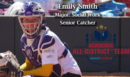 Fontbonne's Smith Named CoSIDA Academic All-District