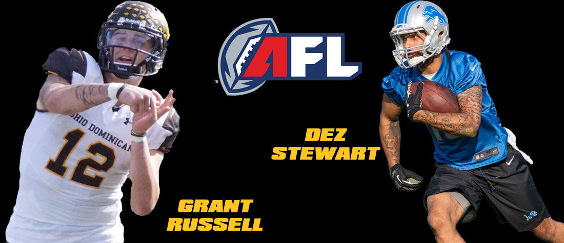 Russell, Stewart To Play In AFL In 2019