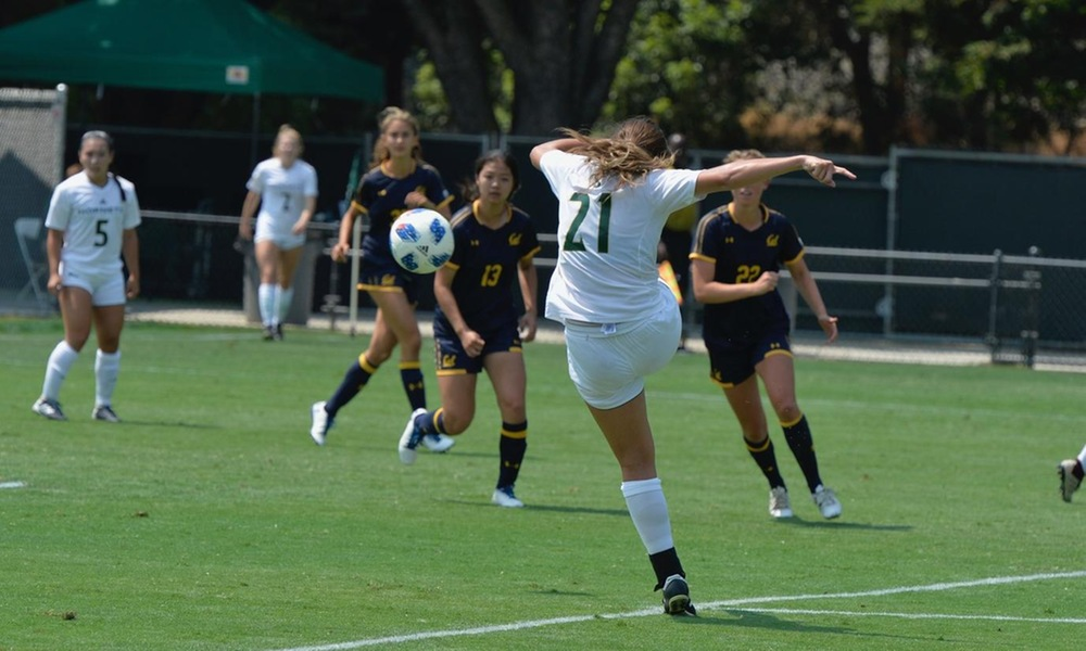 DESPITE EARLY GOAL, WOMEN'S SOCCER FALLS AT PACIFIC