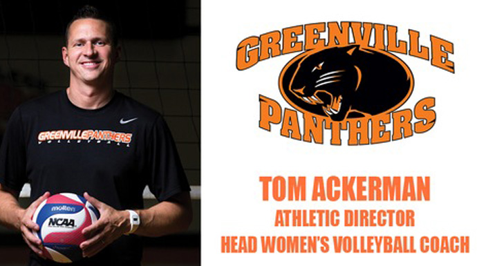 Ackerman Takes Over Greenville Athletic Director Duties