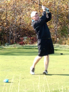 Golfers compete at Northern Athletics Conference Automatic Qualifier