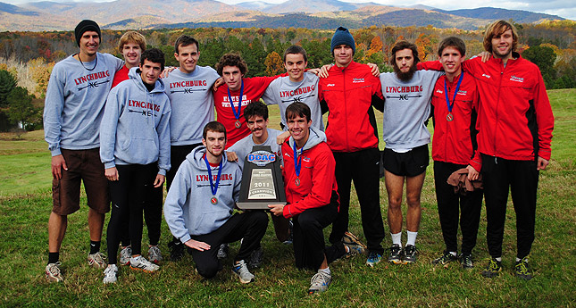LC Men's Cross Country Wins 2011 ODAC Title