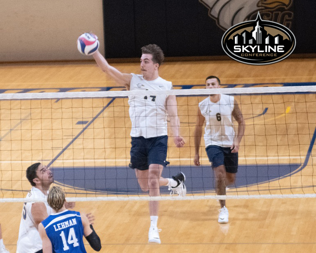 Biggers Named Skyline Men's Volleyball Player of the Week