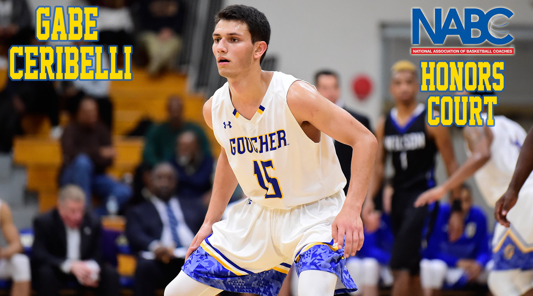 Men's Basketball's Gabe Ceribelli Named to '17-18 NABC Honors Court