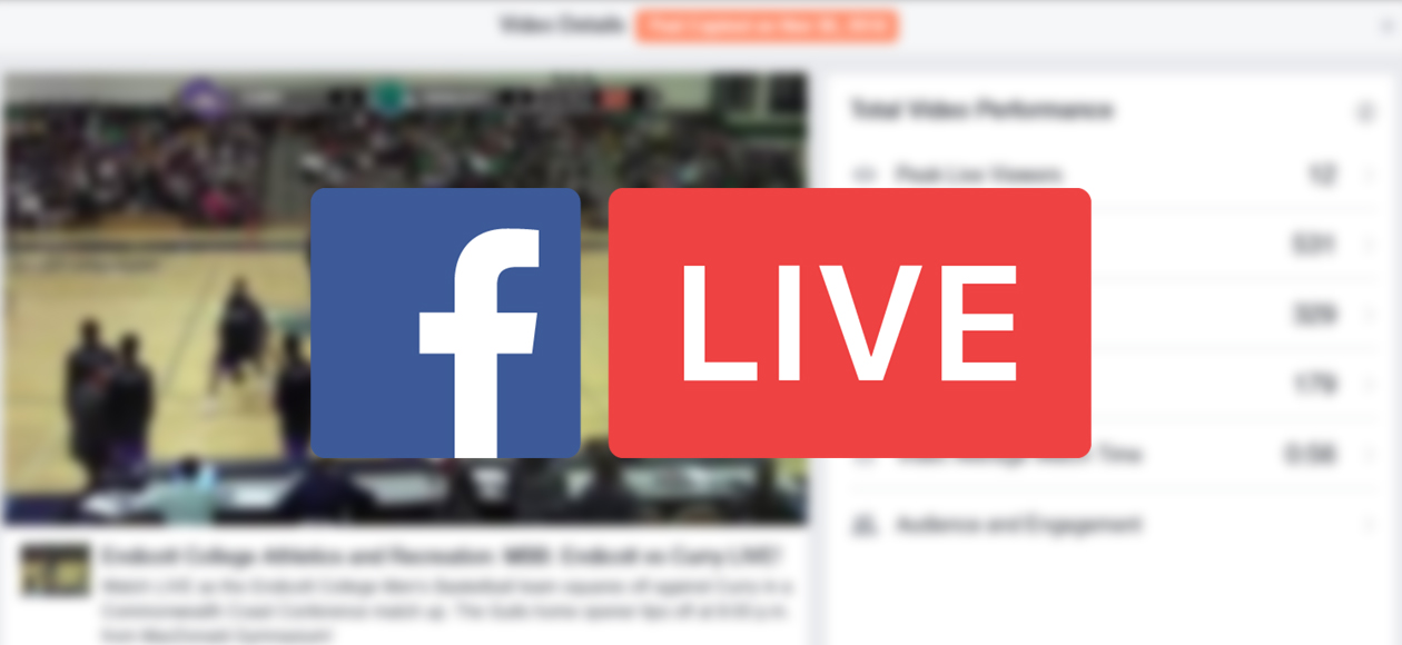 Endicott Athletics To Stream All Home Games On Facebook Live