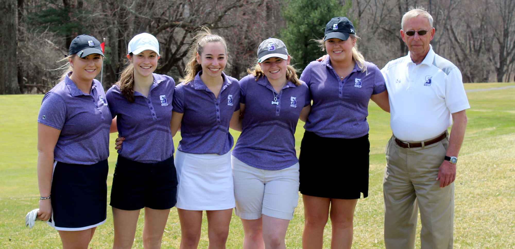 The women's golf team finished sixth at the Landmark Conference Championships on Sunday to close out the 2018-19 season.