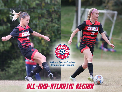 Aleman, Brown Earn NSCAA All-Region Honors