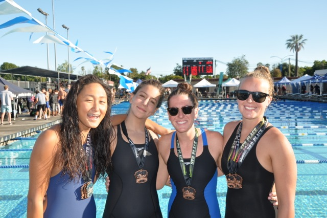 Lady Chargers Break Five Team Records at OEC Championships