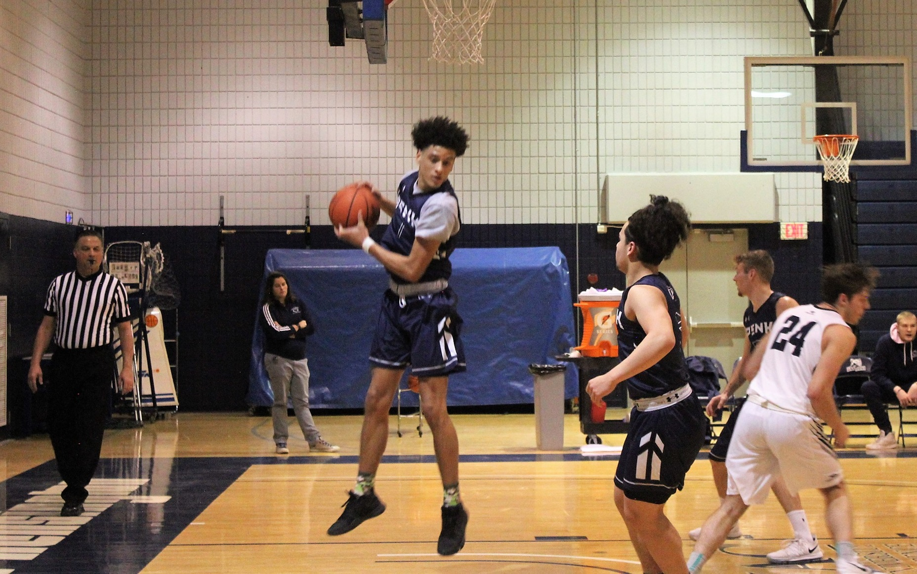 New Kensington Unable to Catch Up to Hazleton in Men's Basketball