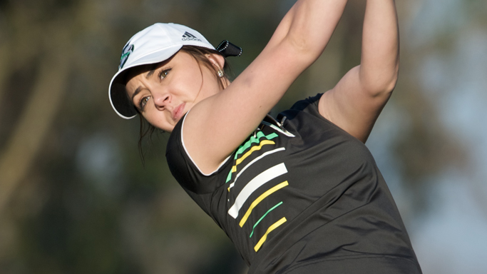 PERSSON, BARTEK MOVE WOMEN'S GOLF TO SIXTH PLACE AT COWGIRL CLASSIC