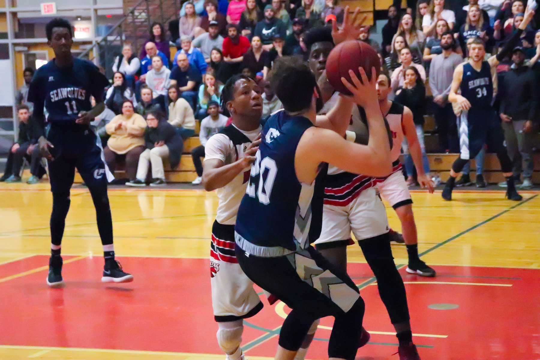 SMCC Men Victorious At Rival Central Maine 71-51