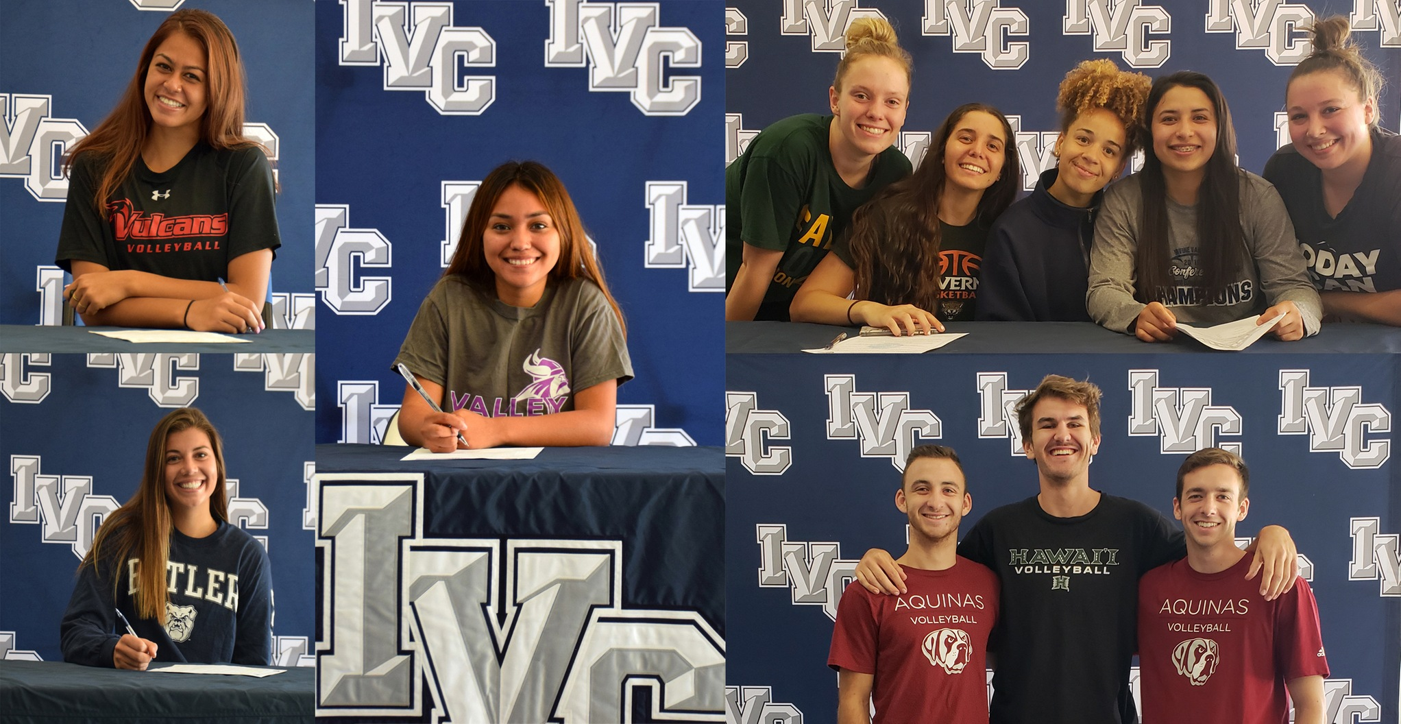 Honorable Mention Story of the Year - Athlete signings galore