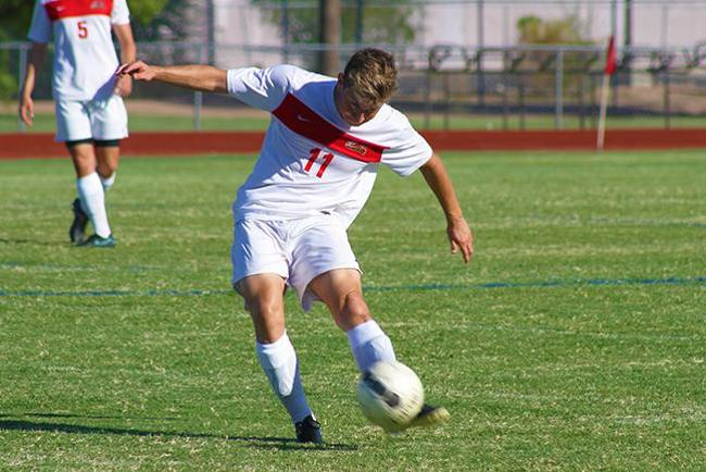 Men's Soccer Battles Back in 2nd Half to Tie Chandler-Gilbert, 3-3