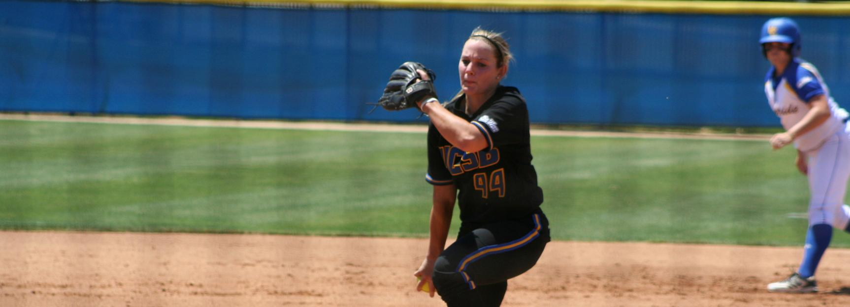 Gauchos Split Doubleheader, Wisdom Sets All-Time Wins Record