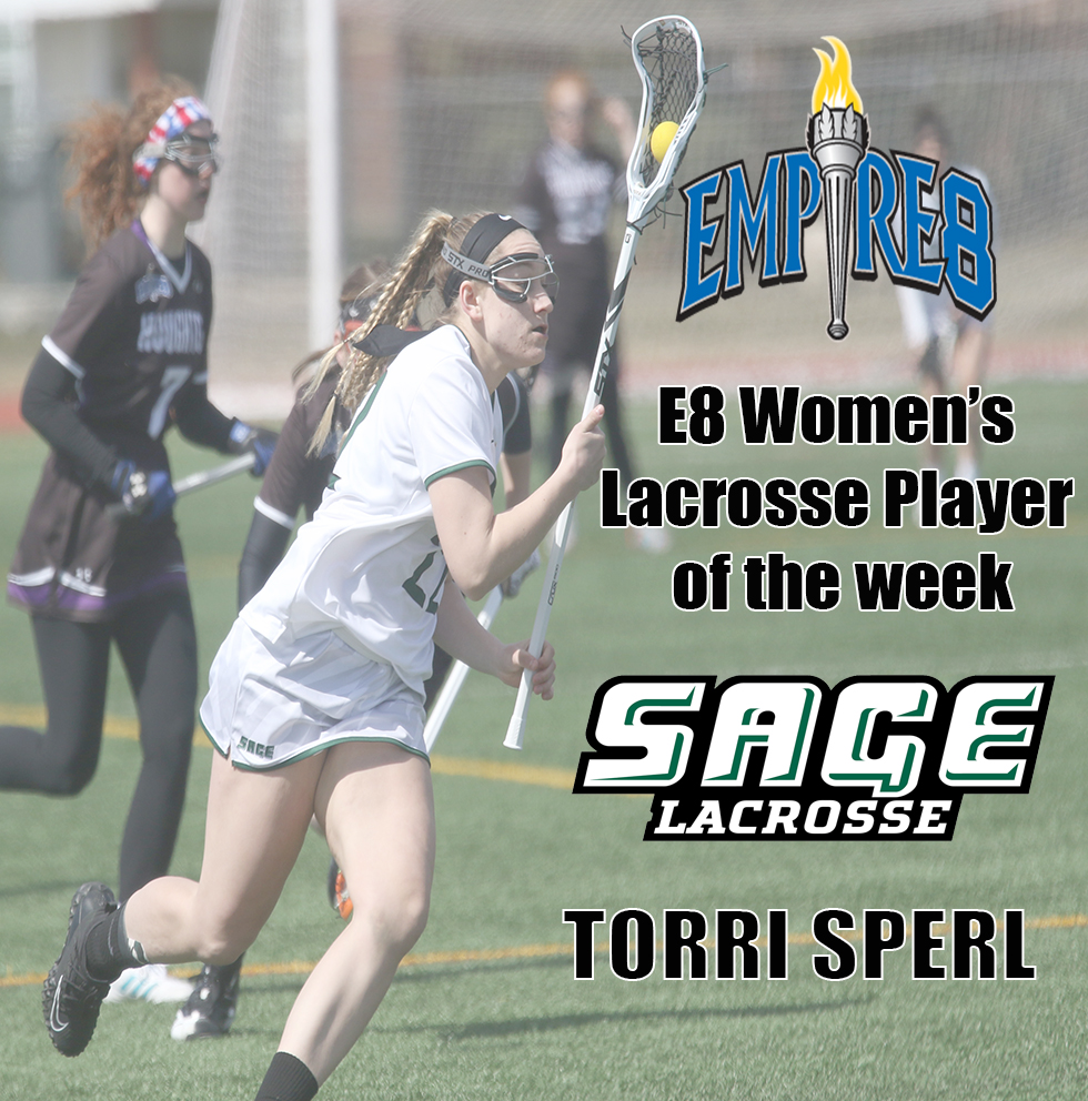 Sperl tapped as Empire 8 Women's Lacrosse Player of the Week