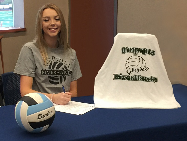 Volleyball Signs Washington Hitter