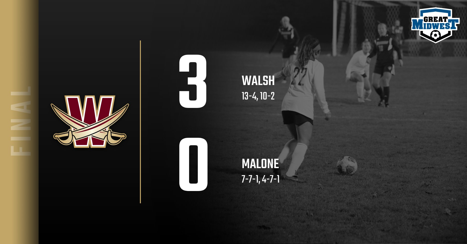 Women's Soccer Ends Regular Season with 3-0 Shutout