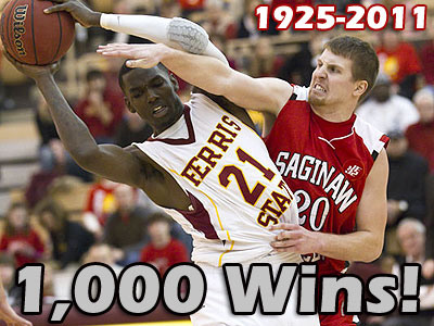 Ferris Men's Basketball Wins 1,000th Game!
