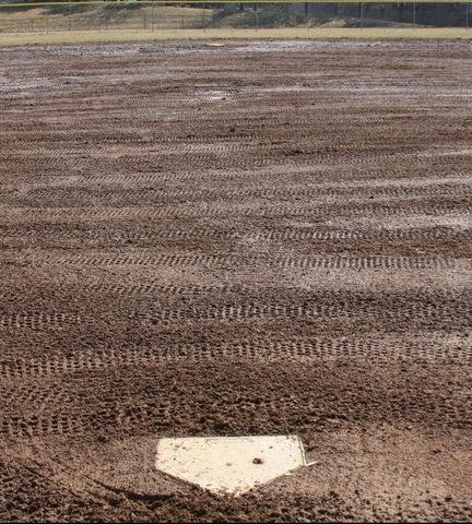 Picture of home plate at BAGSAI