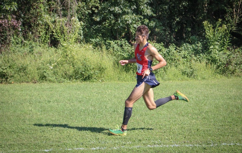 Men's XC With 4th Place Finish at Delaware Invitational