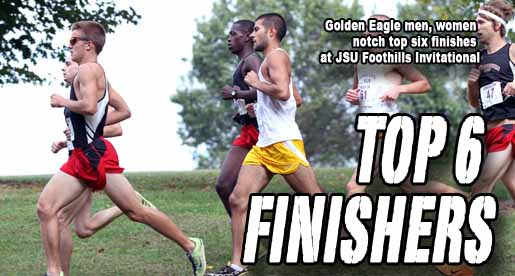 Thirteen Tech runners set personal-bests at JSU Foothills Invitational