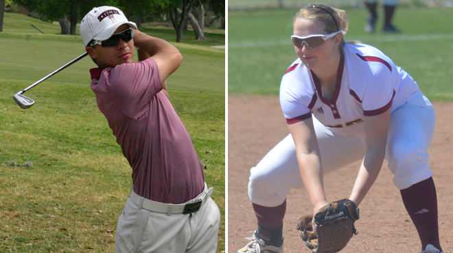 Schreiner's Davis; Austin College's Low Selected SCAC Character & Community Student-Athletes of the Week