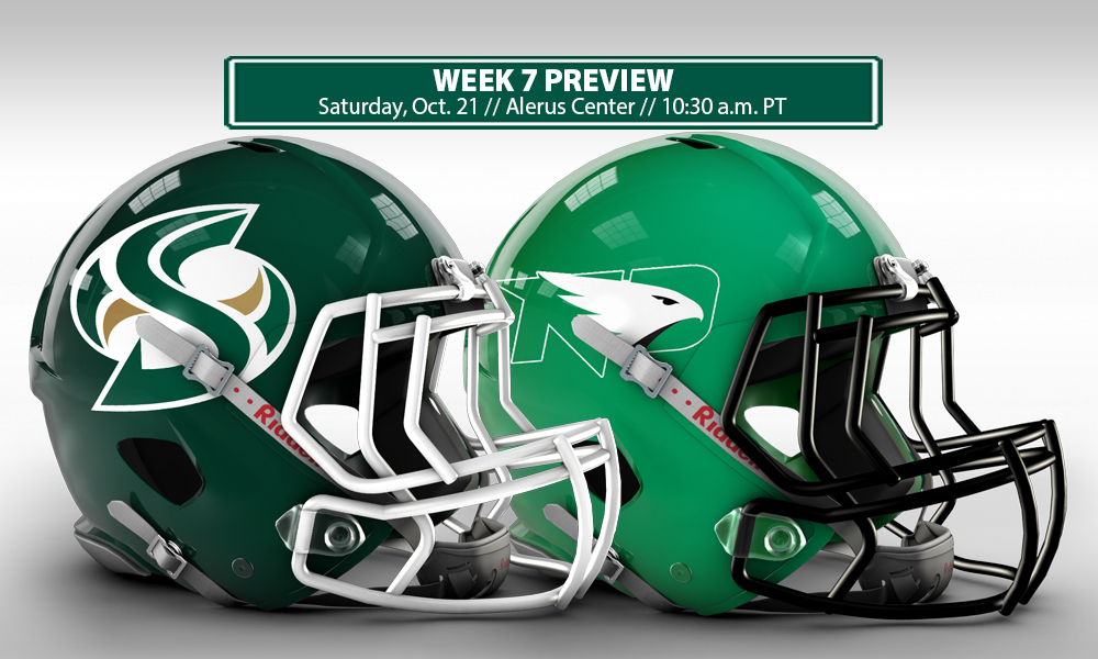 FOOTBALL SEARCHES FOR ROAD WIN AT NORTH DAKOTA ON SATURDAY