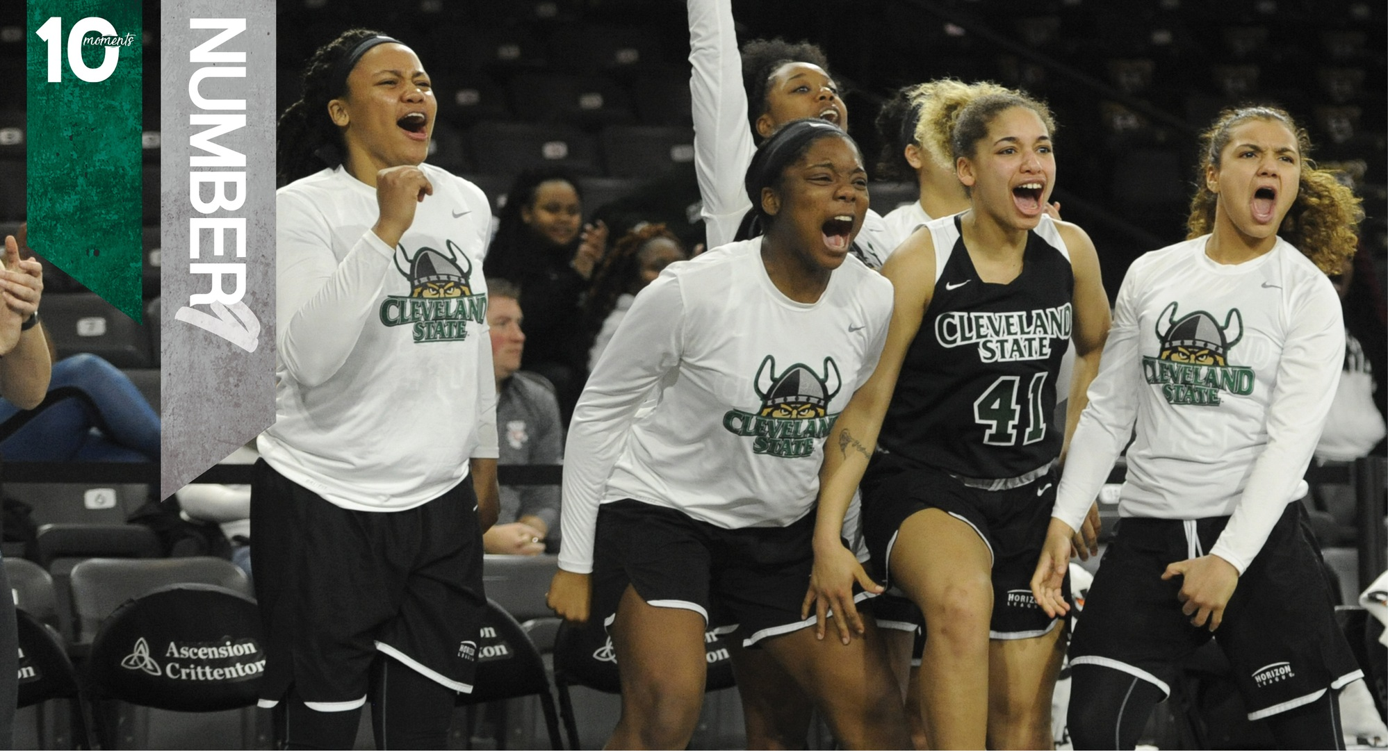 2017-18 CSU Athletics Top 10 Moments | #9 - Women's Basketball Defeats Nationally-Ranked Green Bay