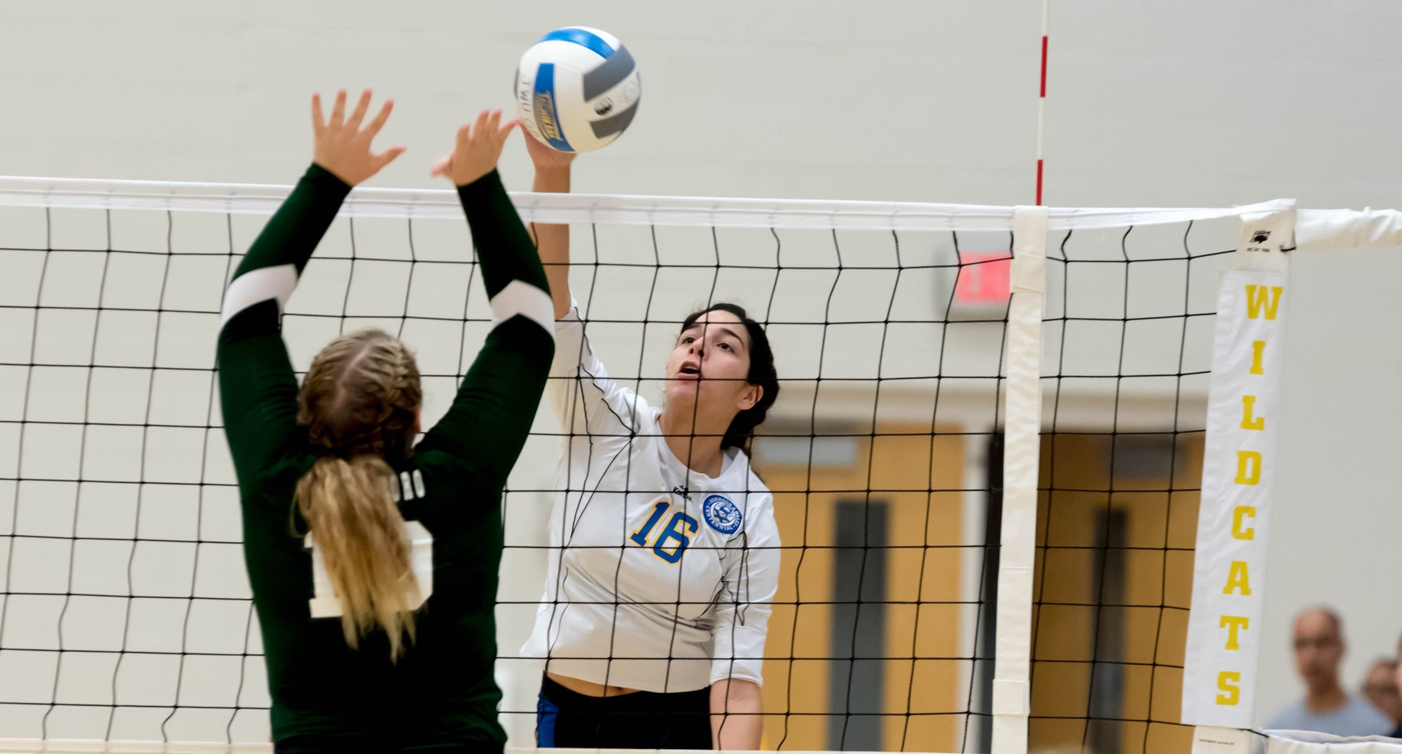 JWU Volleyball Tops Livingstone in Five