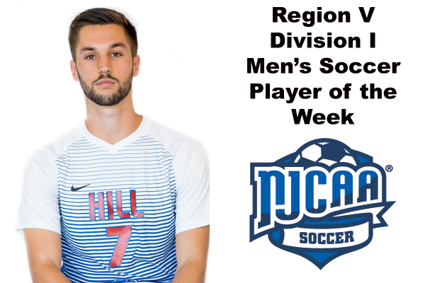 Region V Division I Men's Soccer Player of the Week (Oct. 16)